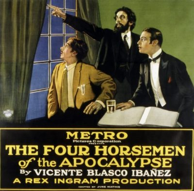 Amazon.com: Posterazzi The Four Horsemen Of The Apocalypse John St. Polis  Nigel De Brulier Rudolph Valentino 1921 Movie Masterprint Poster Print, (14  x 11): Posters & Prints